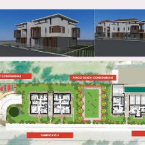 Complesso residenziale con orti urbani