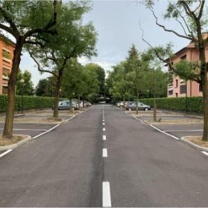 Riqualificazione parcheggio via Leopardi