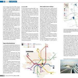 Candidatura di Milano all'EXPO 2015: la sostenibilità trasportistica e gli interventi proposti sulle reti urbane e regionali