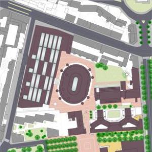 Pedonalizzazione del Campus Universitario della Università Commerciale Luigi Bocconi a Milano