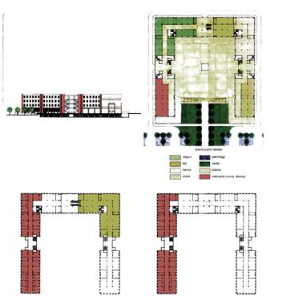 Piano di recupero urbanistico delle aree ex Eridania a Foggia