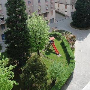 Riqualificazione  cortile condominiale
