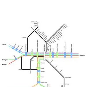Servizio ferroviario metropolitano sulla linea Ponte S. Pietro-Bergamo-Montello